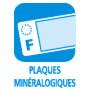 Plaques minéralogiques